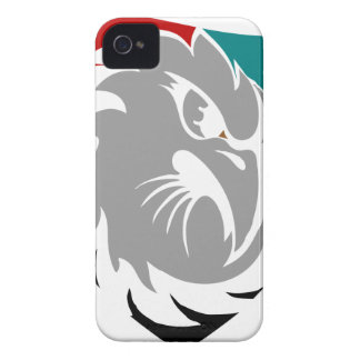 Funda Para iPhone 4 De Case-Mate Escudo de la protección de seguridad del halcón