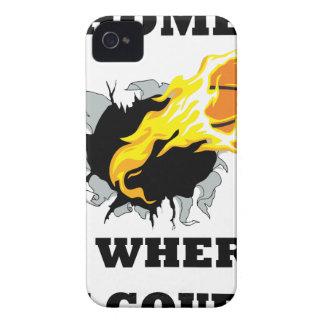 Funda Para iPhone 4 De Case-Mate estallar bball4