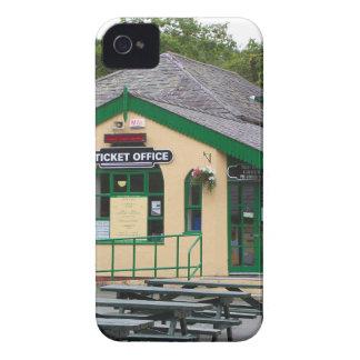 Funda Para iPhone 4 De Case-Mate Ferrocarril de la montaña de Snowdon, Llanberis,