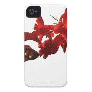 Funda Para iPhone 4 De Case-Mate Flor roja