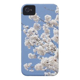 Funda Para iPhone 4 De Case-Mate Flores blancas de la cereza
