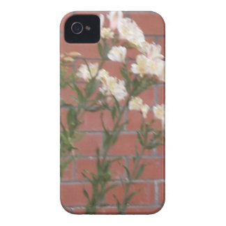 Funda Para iPhone 4 De Case-Mate Flores en ladrillo