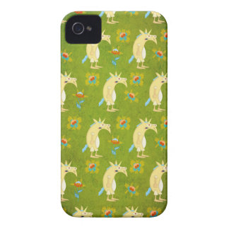 Funda Para iPhone 4 De Case-Mate Flores y unicornios
