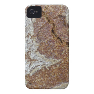 Funda Para iPhone 4 De Case-Mate Foto macra de la superficie del pan marrón de Ger