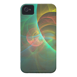 Funda Para iPhone 4 De Case-Mate Fractal abstracto multicolor