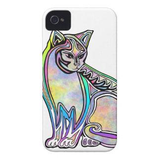 Funda Para iPhone 4 De Case-Mate Gato de la acuarela