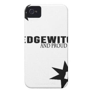 Funda Para iPhone 4 De Case-Mate Hedgewitch y orgulloso de él