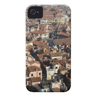 Funda Para iPhone 4 De Case-Mate Horizonte de la ciudad de Venecia