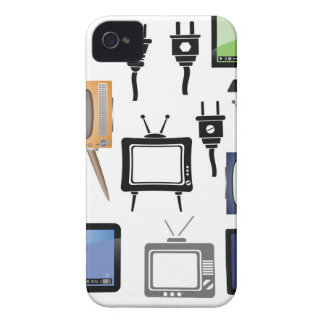 Funda Para iPhone 4 De Case-Mate iconos de la TV
