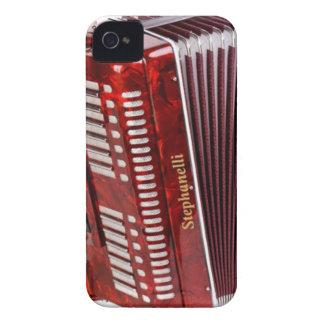 FUNDA PARA iPhone 4 DE Case-Mate INSTRUMENTO MUSICAL DE ACCORDIAN