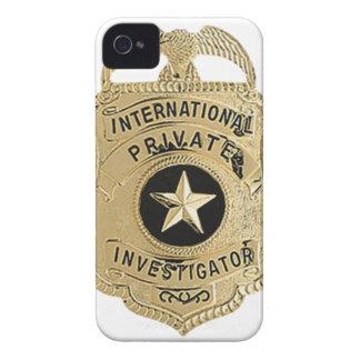 Funda Para iPhone 4 De Case-Mate Investigador privado internacional
