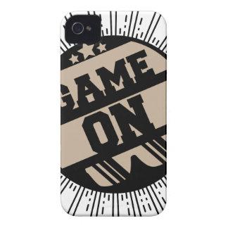 Funda Para iPhone 4 De Case-Mate Juego encendido