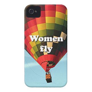 Funda Para iPhone 4 De Case-Mate Las mujeres vuelan: globo del aire caliente