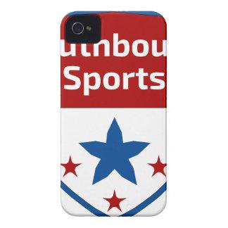 Funda Para iPhone 4 De Case-Mate Logotipo Southbound del escudo de los deportes