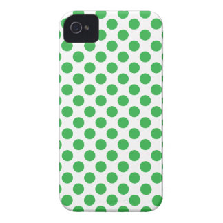 Funda Para iPhone 4 De Case-Mate Lunares verdes