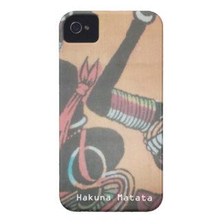 Funda Para iPhone 4 De Case-Mate MAASAI Hakuna Matata.