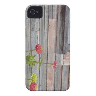 Funda Para iPhone 4 De Case-Mate madera y zinnias resistidos