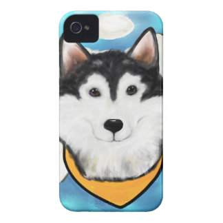 Funda Para iPhone 4 De Case-Mate Malamute de Alaska del ángel