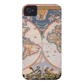 Funda Para iPhone 4 De Case-Mate Mapa del mundo - Weltkarte