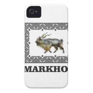 Funda Para iPhone 4 De Case-Mate Marco adornado del Markhor