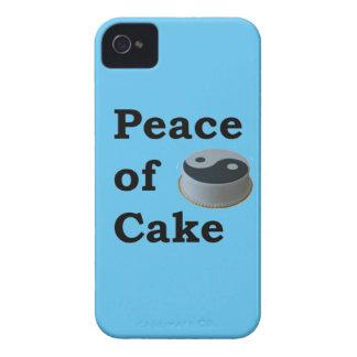 Funda Para iPhone 4 De Case-Mate Más zen cualquier cosa refranes - paz de la torta