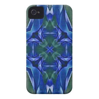 Funda Para iPhone 4 De Case-Mate Modelo bonito de la forma de la cruz del azul real