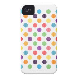 Funda Para iPhone 4 De Case-Mate Modelo de puntos precioso VIII