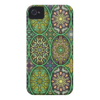Funda Para iPhone 4 De Case-Mate Modelo floral étnico abstracto colorido de la