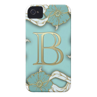 Funda Para iPhone 4 De Case-Mate monograma del alfabeto b