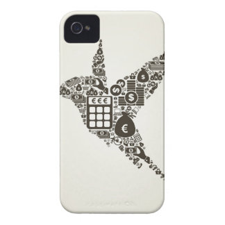 Funda Para iPhone 4 De Case-Mate Negocio del pájaro