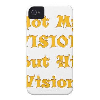 Funda Para iPhone 4 De Case-Mate No mi Vision sino su Vision