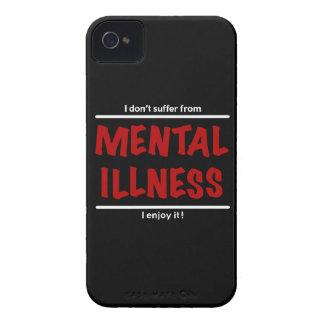 Funda Para iPhone 4 De Case-Mate ¡No sufro de enfermedad mental, yo disfruto de