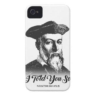 Funda Para iPhone 4 De Case-Mate Nostradamus: Le dije tan