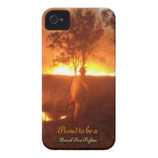Funda Para iPhone 4 De Case-Mate Orgulloso ser un bombero rural Iphone 4g BTC