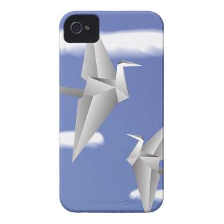 Funda Para iPhone 4 De Case-Mate pájaros 78Paper _rasterized