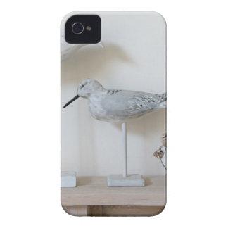 Funda Para iPhone 4 De Case-Mate Pájaros y ovejas de madera del abedul