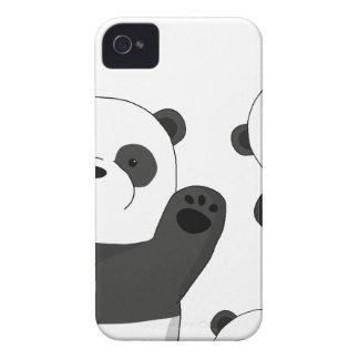 Funda Para iPhone 4 De Case-Mate Pandas lindas