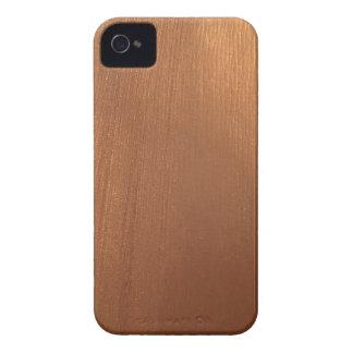 Funda Para iPhone 4 De Case-Mate Para el amor de metálico - luz tenue de cobre