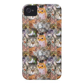 Funda Para iPhone 4 De Case-Mate Pattern Cats