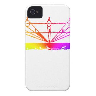 Funda Para iPhone 4 De Case-Mate Perspectiva del color, astronomía inquisitiva por