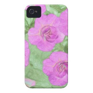 Funda Para iPhone 4 De Case-Mate Petunias pintadas