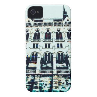 Funda Para iPhone 4 De Case-Mate Pintura húngara del parlamento