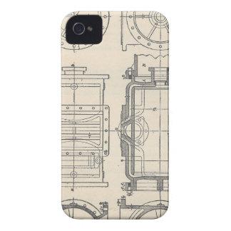 Funda Para iPhone 4 De Case-Mate Pocletbook del mecánico