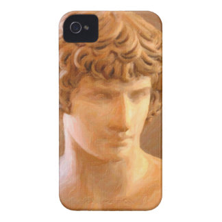 Funda Para iPhone 4 De Case-Mate retrato abstracto de un hombre joven