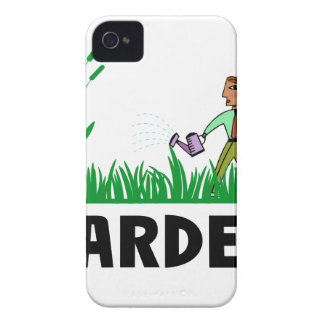 Funda Para iPhone 4 De Case-Mate riego del jardín