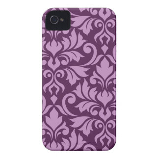 Funda Para iPhone 4 De Case-Mate Rosa del arte I del damasco del Flourish en