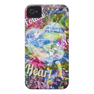 Funda Para iPhone 4 De Case-Mate Siga siempre su corazón y usted no lamentará i