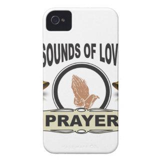 Funda Para iPhone 4 De Case-Mate sonidos del cielo del amor