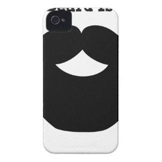Funda Para iPhone 4 De Case-Mate su barba es buena
