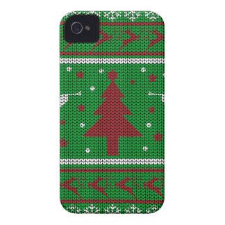 Funda Para iPhone 4 De Case-Mate Suéter feo del navidad